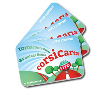 Carte Vito Corsica